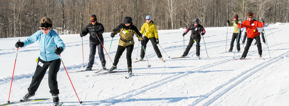 Ladies nordic ski clinic